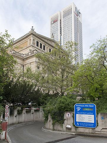 Parkhaus Oper Frankfurt