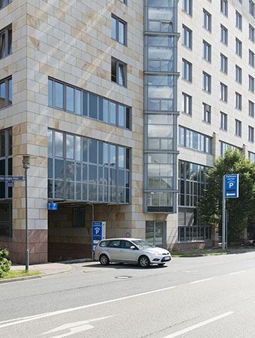 Parkhäuser Frankfurt