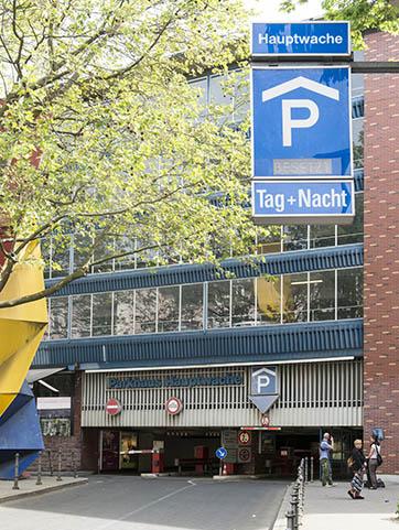 Frankfurt Parkhaus Börse