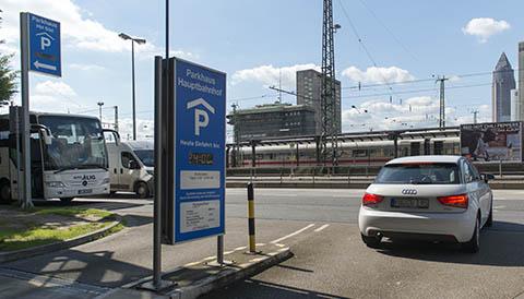 Parkhaus Hauptbahnhof Süd Frankfurt